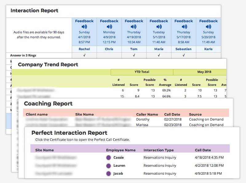 Flexible Reporting